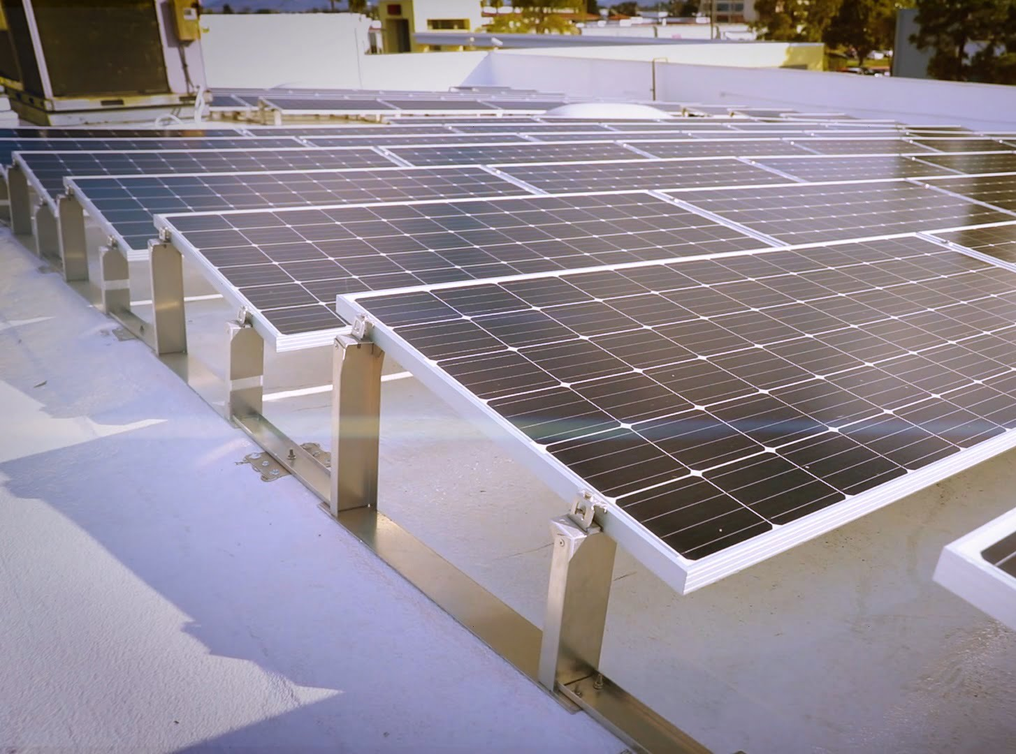Mor Furniture Commercial Solar Panels