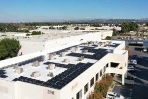 Commercial Solar for Largo Concrete in Tustin CA.